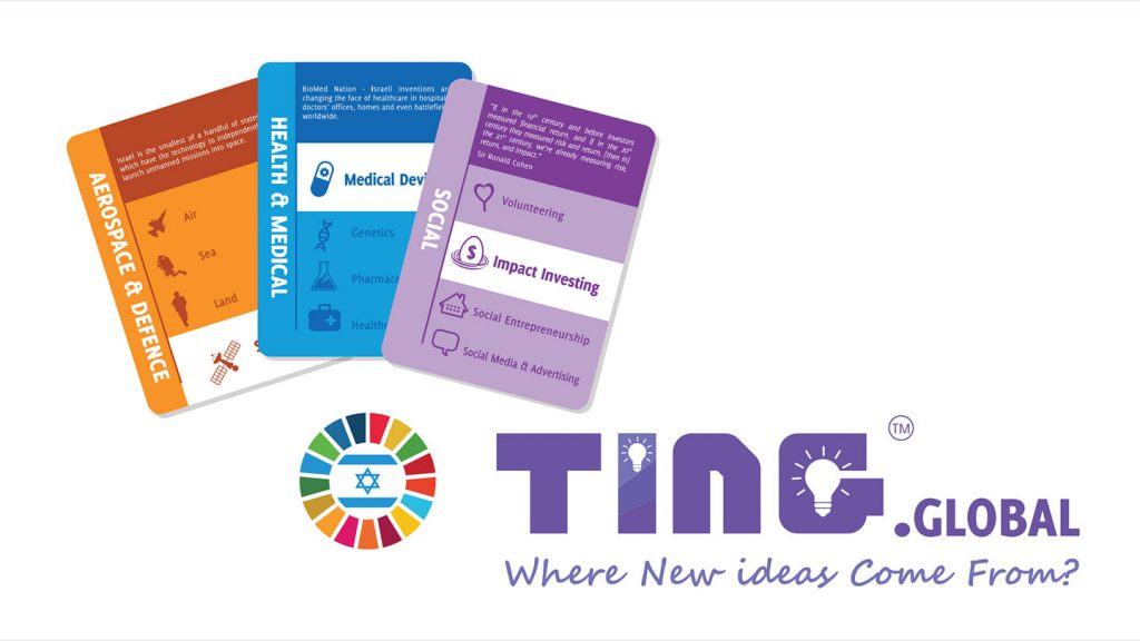 TING.Global — Games that Inspire - SDG 10 Social Impact lsrael