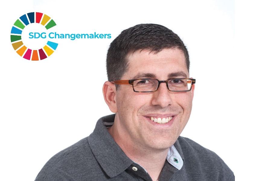 Itzik Sabato, Director, National Insurance Fund - sdg changemaker - social impact israel