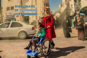 Wheelchairs of Hope - Enabling Future Generations - sdg 10 - social impact israel