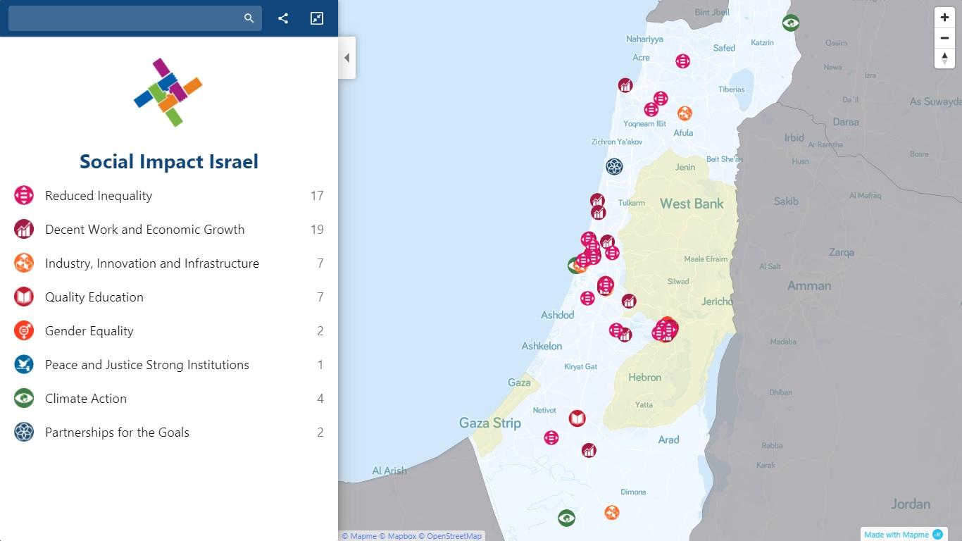 Mapped: Israel's Social Impact Ecosystem - Social Impact Israel